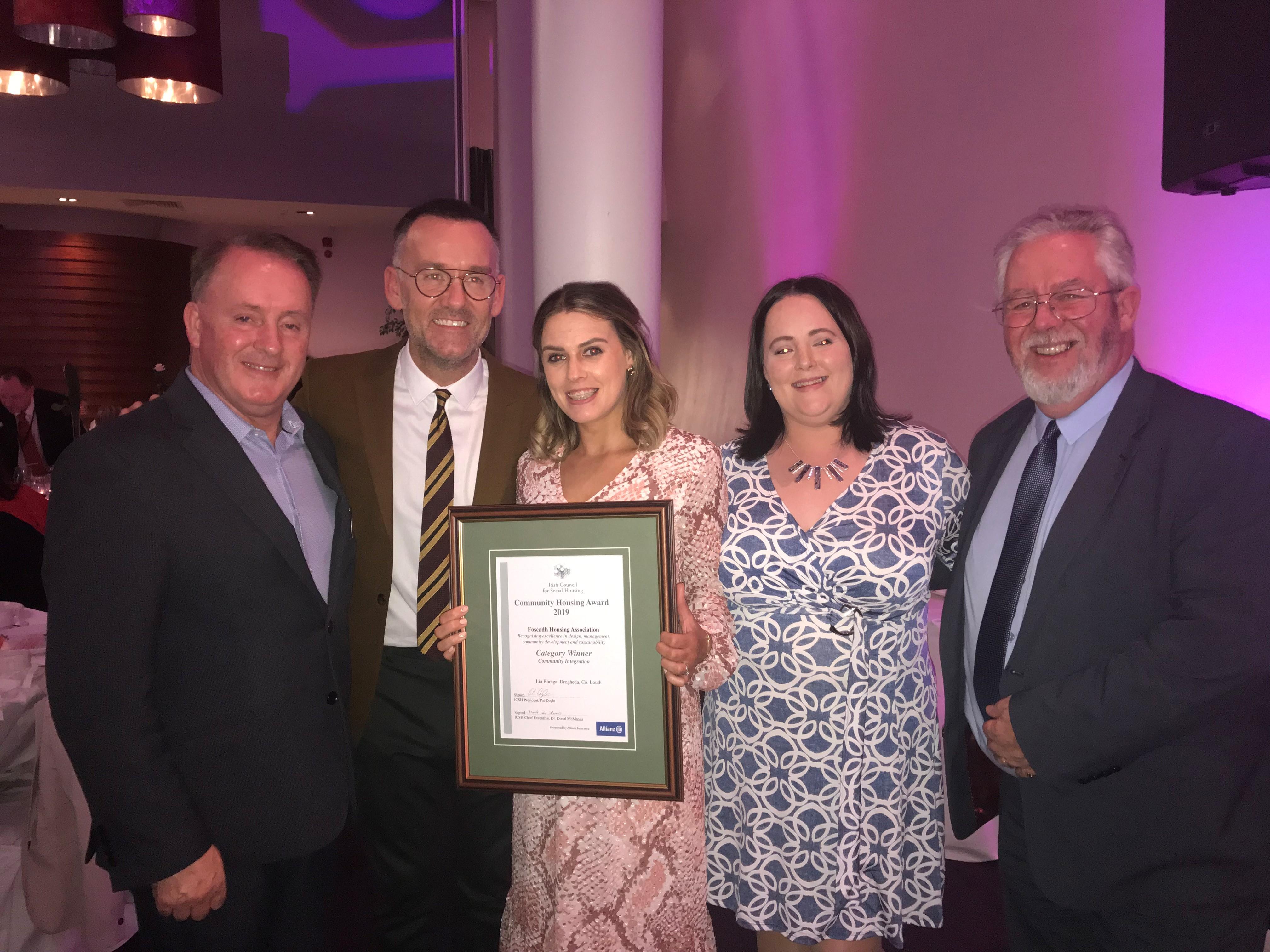 RTÉ Presenter with Foscadh - Award
