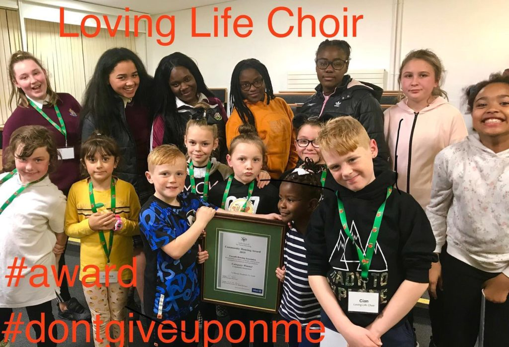 Loving Life Choir - Group Photo