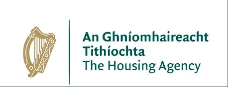 an ghniomhaireacht tithiochta logo